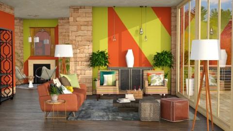 Autumn 12092016 - Living room  - by Lye