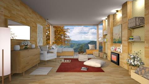 Sun in the Mountain - Bedroom  - by Ferplace