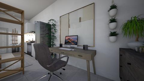 SKT Apartment Desk Office - Minimal - Office  - by lukecepheidv