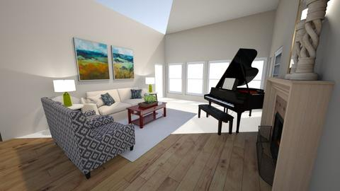 Marsha1 - Living room - by mooreinteriorsdfw