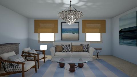 Coastal - Living room  - by Rok_0611