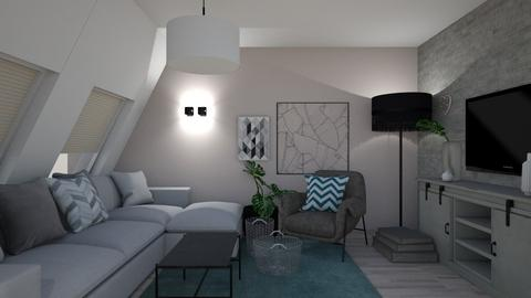 III Part 2 - Living room  - by EDeb