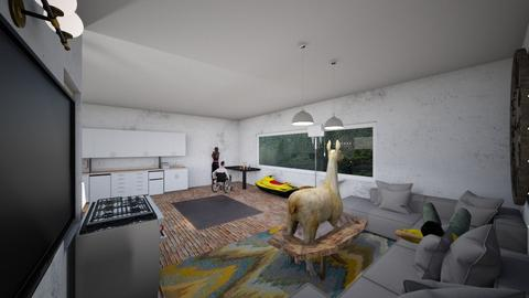 crazy house - Minimal - Living room  - by unseasoned