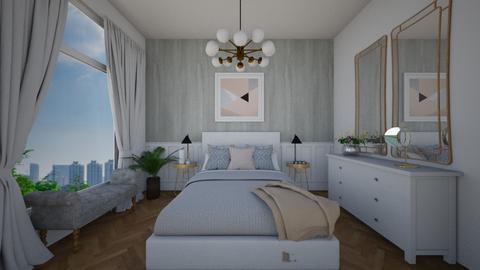 master bedroom part2 - Modern - Bedroom - by binameerodal