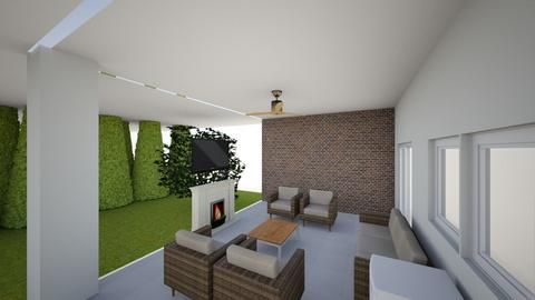 Patio center long wall v1 - by romxrf