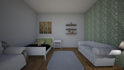 art project 2021 - Bedroom  - by meblois01