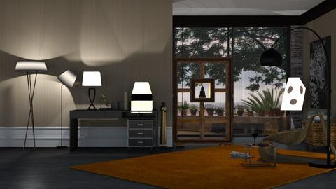 play of lamps - Living room  - by nat mi