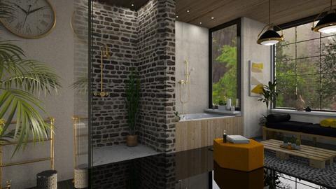 sunday - Modern - Bathroom  - by jjannnii