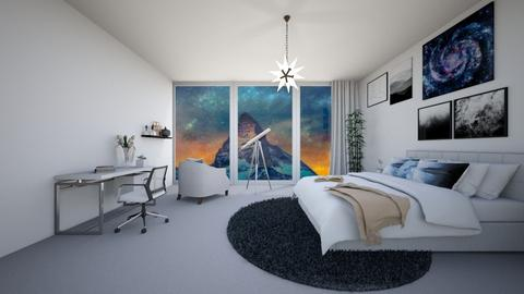 stars and mountain - Bedroom  - by NGU0008