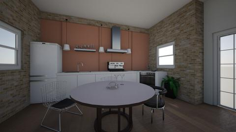 Contemporary Apartment K  - Modern - Kitchen - by TheSeaHorse