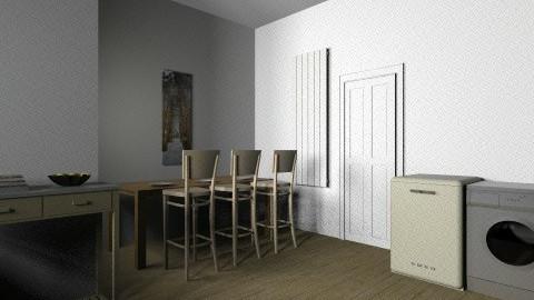 My DREAM kitchen - Retro - Kitchen  - by jamesgeorgecritchley