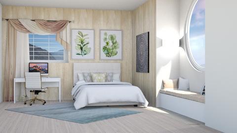 Bedroom beige  - Modern - Bedroom  - by Meghan_and_Pheebs