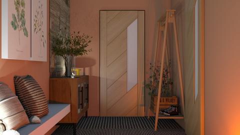 Welcoming Hallway - by eliseatlife