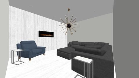 Rustic White - Rustic - Living room  - by jaiden2006