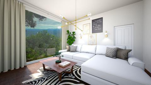 urban living room - Retro - Living room  - by daniellapomfrett