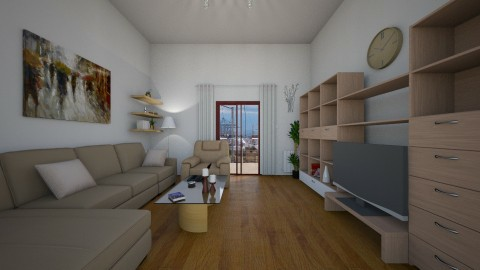 renew 70s 2 - Living room - by Strandreas