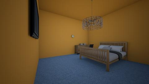 One Man Free Reign - Modern - Bedroom - by JackMa