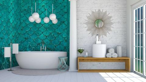 Scales - Bathroom  - by Liu Kovac