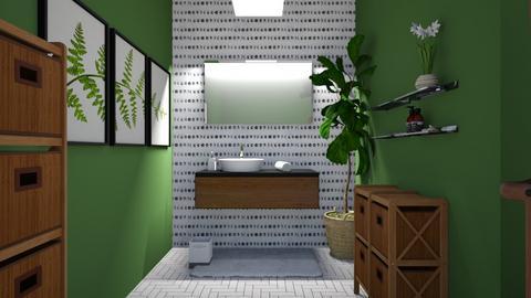 Kira - Bathroom  - by light_of_grace