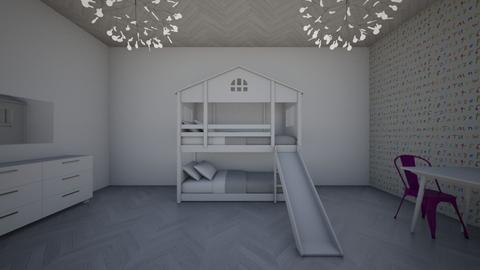Twin Room - Kids room  - by jordynclark