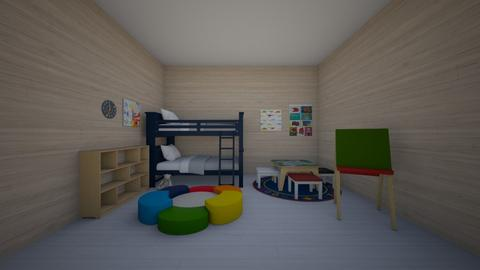 Rainbow Room - Kids room  - by coolthingyahyah