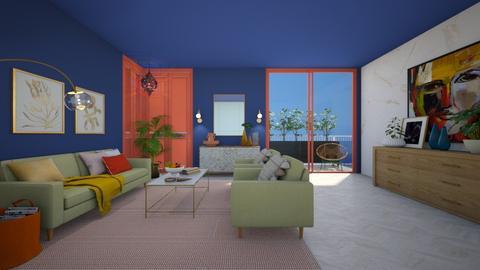 G Summer Shell - Living room - by regenboogdwerg