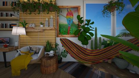 jardim botanico - Living room  - by diegobbf