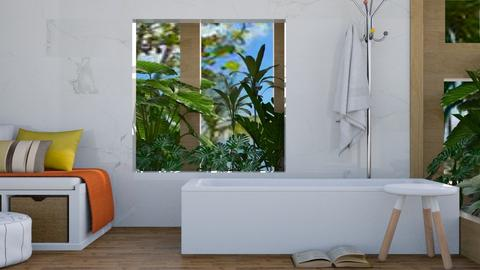 Resort Bathroom - Modern - Bathroom  - by millerfam