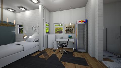 Best Office Setup - Rustic - Office  - by JaidenLegg