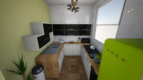 Inigo Jones Road - Kitchen  - by rachelbbridge