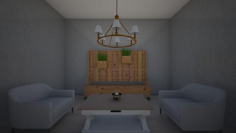 MODERN  - Modern - Living room  - by BRbroman