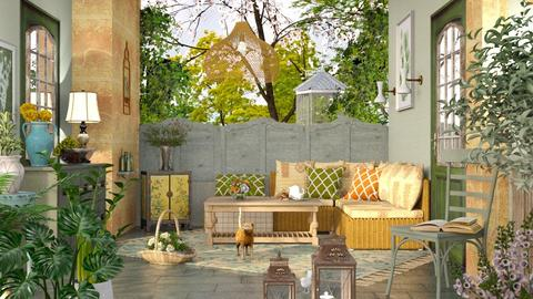 M_ Spring Sun Space - Eclectic - Garden  - by milyca8
