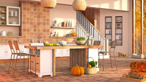 Rustic Autumn Kitchen - Kitchen  - by LB1981