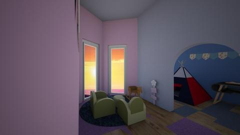 play pen for twins - Country - Kids room  - by taebay1 OSG