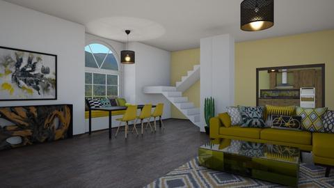 yellow - Living room - by tj94