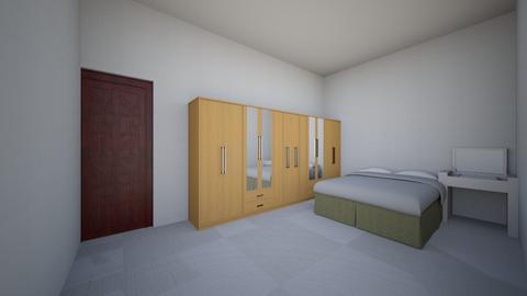 yuzhen_room - Modern - Bedroom  - by jackhank