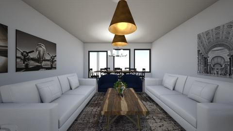 The Sonoma Farmhouse - Living room  - by Georgiaandres