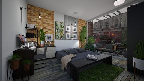 urban - Bedroom - by aleya