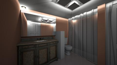 Basement Bathroom - Bathroom  - by SammyJPili