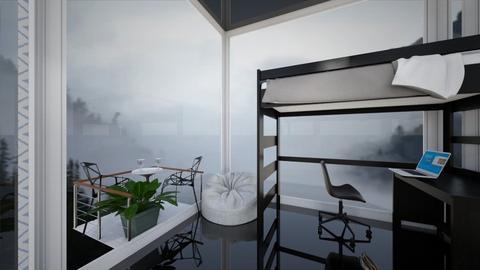 Summit small space - Bedroom  - by flowerpandafox
