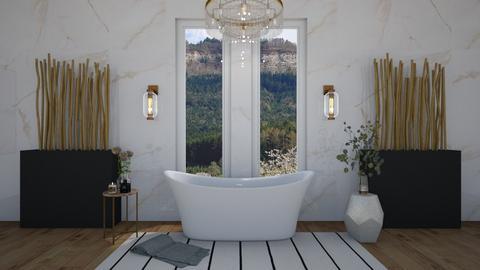 The Luxury Bath - Bathroom  - by Jane Rawle