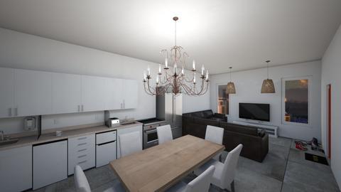 small apartment  - Kitchen  - by XenaChico