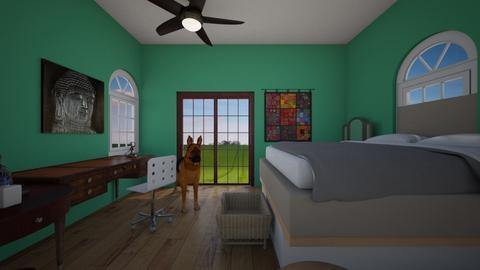 Colorado Room - Country - Bedroom  - by kiwimelon711