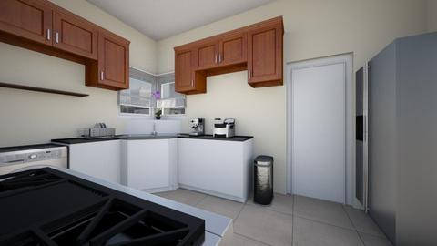 City Apartment Kitchen - Kitchen  - by SammyJPili