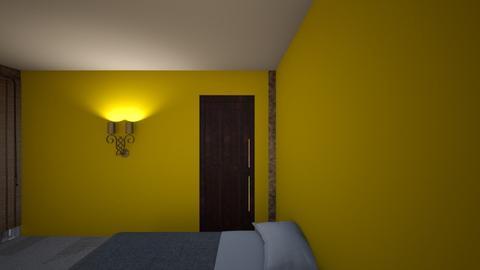 matthew E room 5_1 - Country - Bedroom  - by matthew eakes