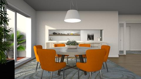 436 - Modern - Dining room  - by Claudia Correia