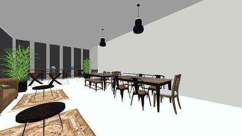 Aquarijn Industrieel - Living room  - by Paula Wacht