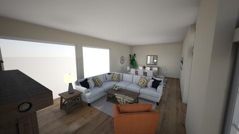 THE JOHNSONS - Living room  - by milya09