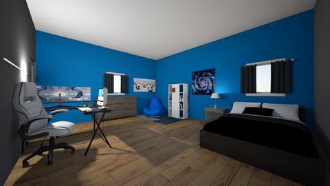 Modern design bedroom 2 - Modern - Bedroom  - by Lennox_Galvan