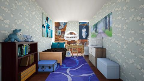 A Matzen - Bedroom - by scourgethekid
